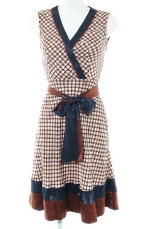BCBG Maxazria Midi Dress abstract pattern business style
