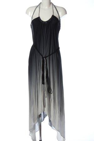 BCBG Maxazria Sukienka midi czarny-jasnoszary Gradient Elegancki