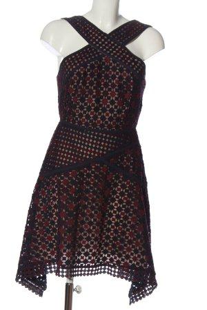 BCBG Maxazria Mini-jurk veelkleurig casual uitstraling