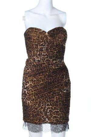 BCBG Maxazria Robe courte imprimé allover style décontracté