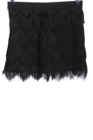 BCBG Maxazria Spódnica mini czarny W stylu casual