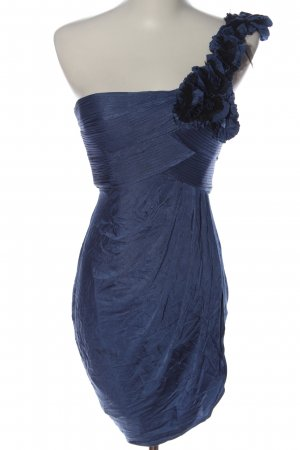 BCBG Maxazria One-Shoulder-Kleid blau Elegant