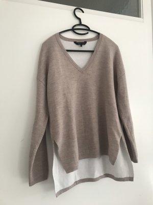 BCBG Maxazria V-Neck Sweater natural white-beige