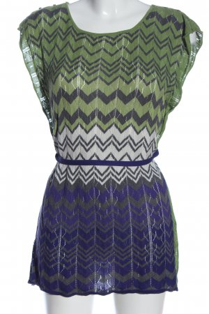 BCBG Maxazria Schlupf-Bluse grafisches Muster Casual-Look