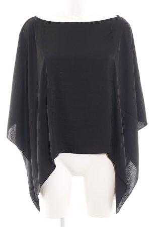 BCBG Maxazria Schlupf-Bluse schwarz Casual-Look