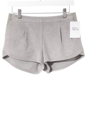 BCBG Maxazria Shorts hellgrau Casual-Look