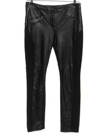 BCBG Maxazria Pantalone jersey nero stile casual