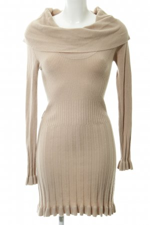BCBG Maxazria Knitted Dress beige casual look