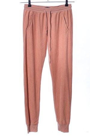 BCBG Maxazria Pantalon de jogging rose chair style décontracté