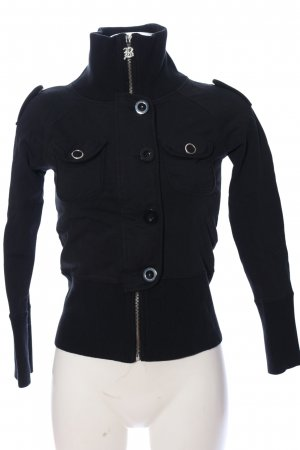 BCBG Maxazria Sweatshirt zwart casual uitstraling
