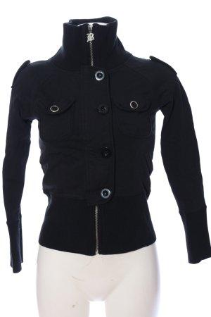 BCBG Maxazria Sweat Shirt black casual look