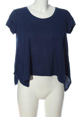 BCBG Maxazria T-shirt niebieski W stylu casual
