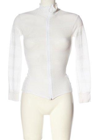 BCBG Maxazria Übergangsjacke weiß schlichter Stil