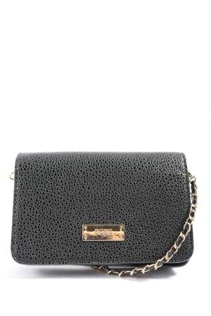 BCBG Mini sac noir motif abstrait style décontracté
