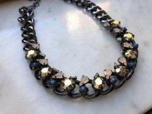 BCBG Chain zwart-zilver