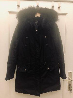 BCBG Maxazria Manteau d'hiver noir