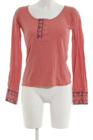 BCBGeneration Koszulka z długim rękawem różowy W stylu biznesowym