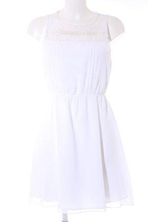 BCBGeneration Robe courte blanc élégant