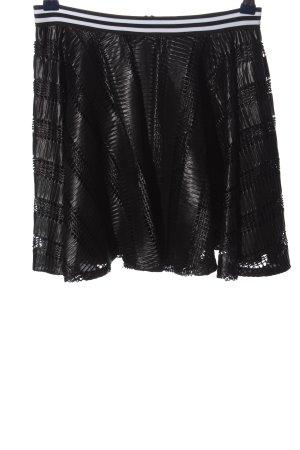 BCBGeneration Mini-jupe noir style décontracté