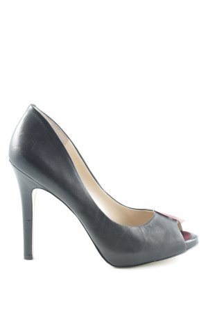 BCBGeneration Peep Toe Pumps black elegant