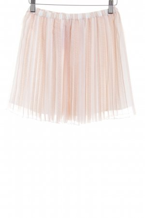 BCBGeneration Pleated Skirt pink-white simple style
