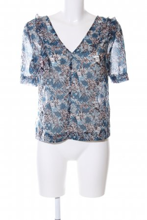 BCBGeneration Ruffled Blouse allover print casual look
