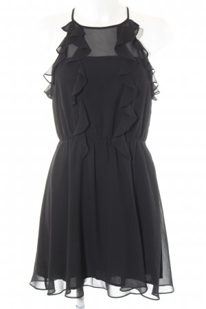 BCBGeneration Flounce Dress black party style