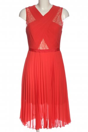BCBGMAXAZRIA A-Linien Kleid rot Elegant