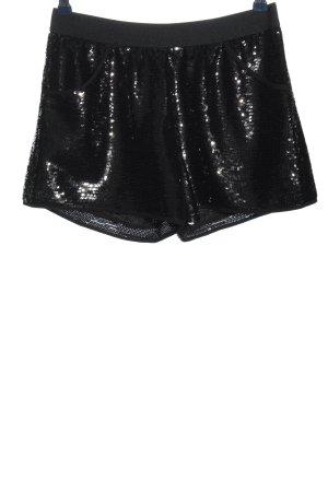 BCBGMAXAZRIA Krótkie szorty czarny W stylu casual