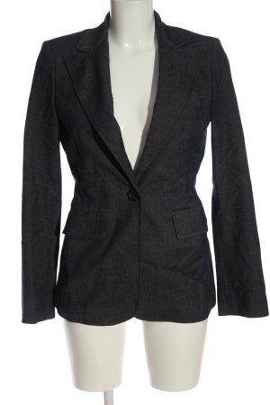 BCBGMAXAZRIA Klassischer Blazer czarny Melanżowy W stylu casual