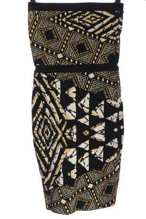 BCBGMAXAZRIA Sukienka mini Na całej powierzchni Elegancki