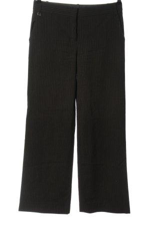 BCBGMAXAZRIA Spodnie materiałowe czarny-biały Na całej powierzchni