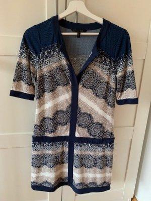 BCBGMAXAZRIA Sukienka mini niebieski Poliester