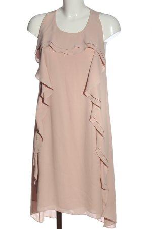 BCBGMAXAZRIA Vestido mullet crema elegante