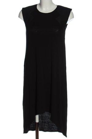 BCBGMAXAZRIA Robe bas asymétrique noir style décontracté