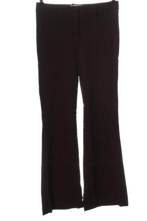 BCBGMAXAZRIA Wełniane spodnie brązowy W stylu biznesowym