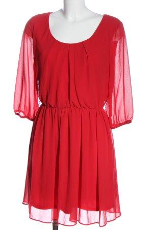 BCX Sukienka koszulowa czerwony Elegancki