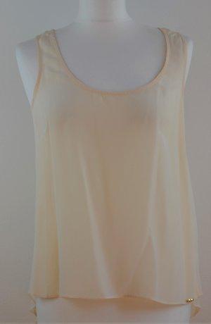 bdba Silk Top cream silk