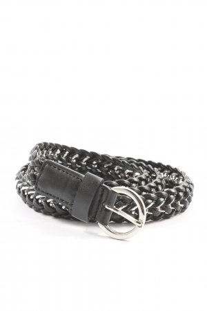 bdc Braided Belt black casual look