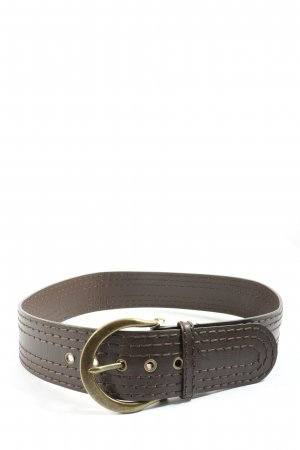 bdc Faux Leather Belt brown casual look