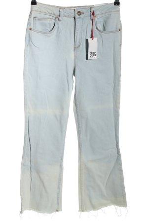 BDG 7/8 Jeans himmelblau Jeans-Optik