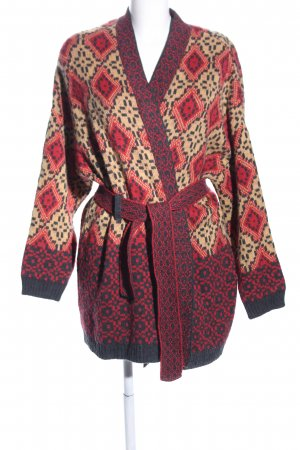 BDG Cardigan red-nude allover print casual look