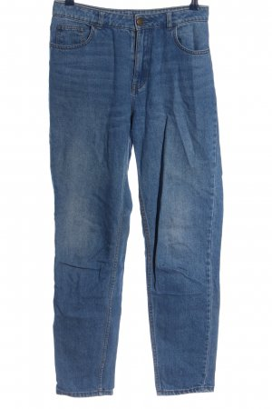 BDG Hoge taille broek blauw casual uitstraling