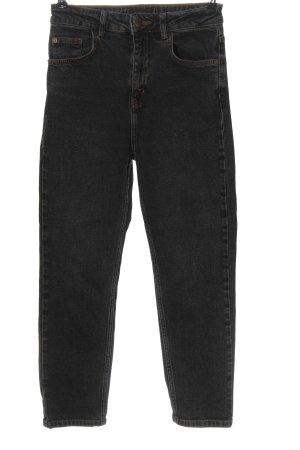 BDG Jeans a vita alta nero stile casual