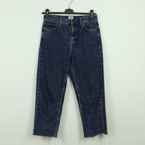 BDG Straight Leg Jeans dark blue-steel blue cotton