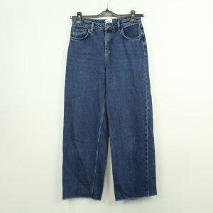 BDG Straight Leg Jeans blue cotton