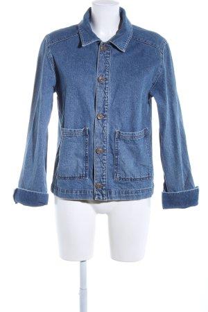 BDG Jeansjacke blau Casual-Look