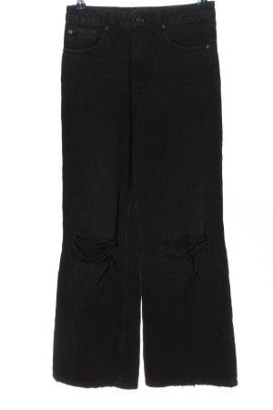 BDG Jeansschlaghose schwarz Casual-Look