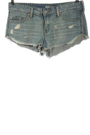 BDG Short en jean bleu style décontracté