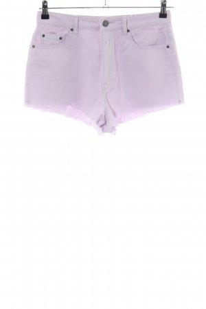 BDG Jeansshorts lila Casual-Look